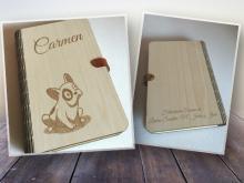 Libro de Firmas Comunión en madera de Haya